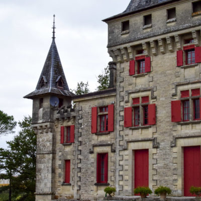 Chateau de Pressac main building